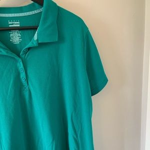 2/$18 Green / Short Sleeve / Polo